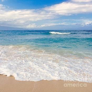 Kapukaulua Beach Maui Hawaii by Sharon Mau