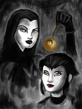 Karai And Shinigami by Amber Stanford