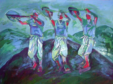 Karbi Traditional Shield Dance by Leonard Bey