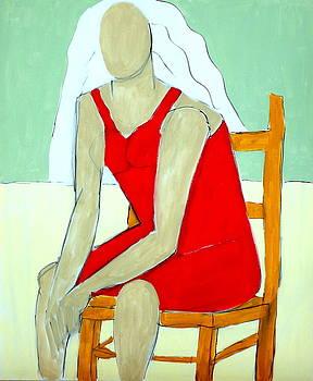 Karen Sitting by Robert Catapano