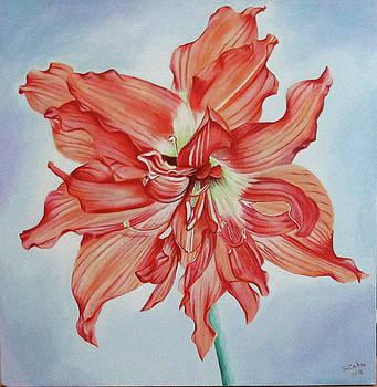 Karen's Flower by Suzahn King