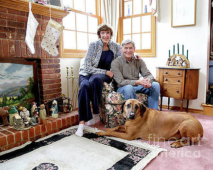 Karl and Jennie at Christmas by James Steele