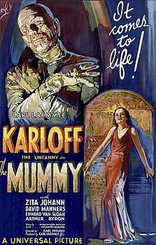 Daniel Hagerman - KARLOFF as THE MUMMY LOBBY POSTER 1932