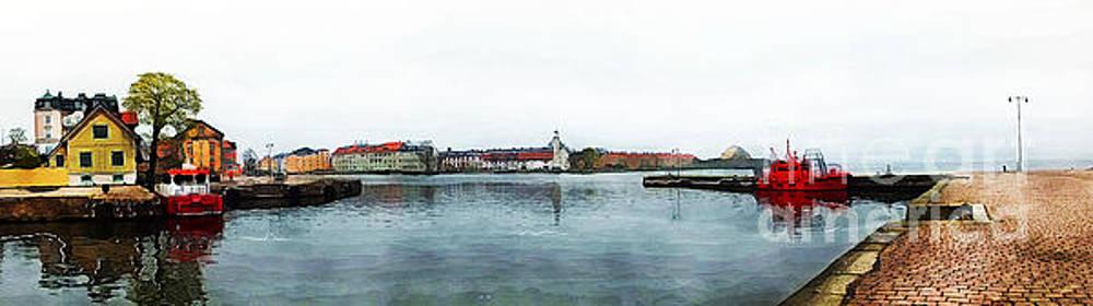 Justyna Jaszke JBJart - Karlskrona 10 watercolor painting