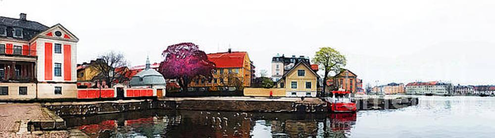Justyna Jaszke JBJart - Karlskrona 7 watercolor painting