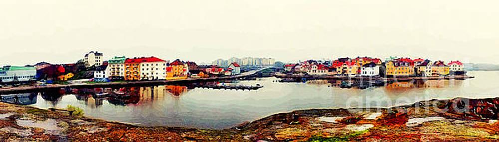 Justyna Jaszke JBJart - Karlskrona 8 watercolor painting