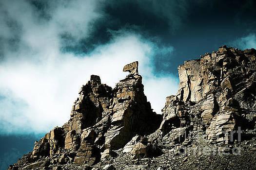 Karma axe Tara pass Kailas Himalayas Yantra.lv by Raimond Klavins