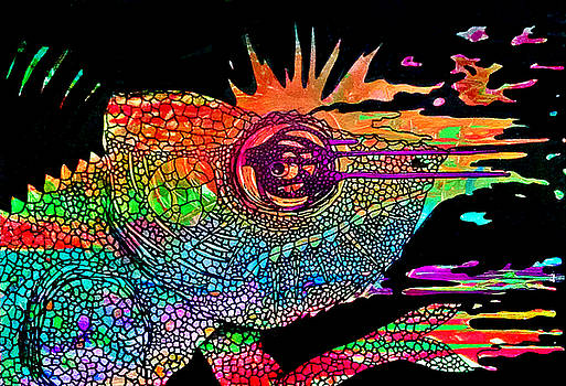 Karma Chameleon Deux by Siobhan Shene