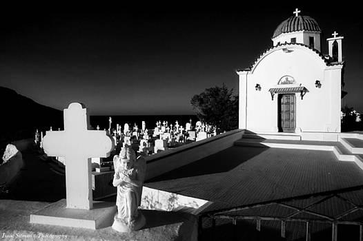 Isaac Silman - Karpathos cemetery Church Greece