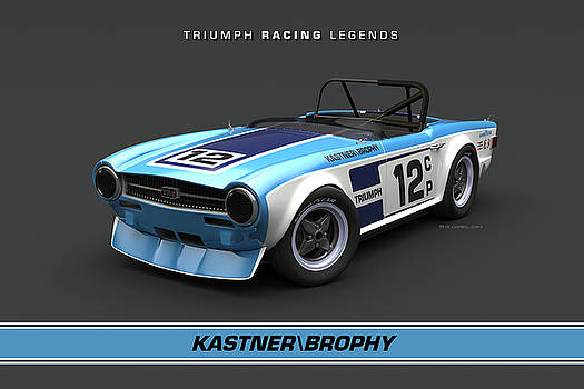 Kas Kastner TR6 High Front Quarter by Pete Chadwell