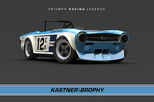Kastner/Brophy TR6 Low Front Quarter by Pete Chadwell