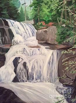 Katahdin Falls by Stella Sherman