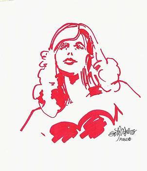 Kate Moss by Seth Weaver