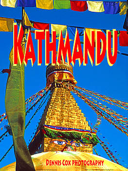 Dennis Cox Photo Explorer - Kathmandu Travel Poster