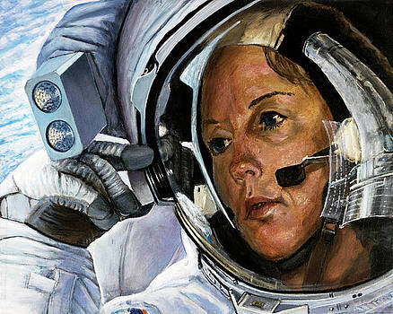 Kathy Thornton- STS 61 by Simon Kregar