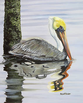 Kathy's Pelican by Phyllis Beiser