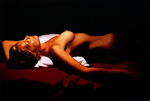 Katia Reclined II by Toby Boothman