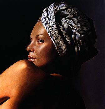 Katia with turban by Toby Boothman