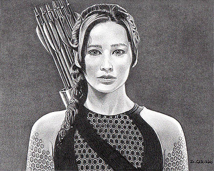 Katniss by Daniel Carvalho
