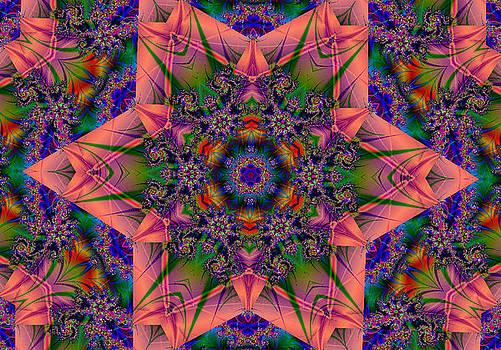 Katsfractals 157 by Kathleen Storey