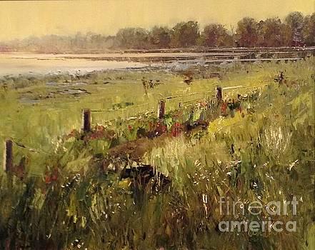 Katy Prairie at Warren Lake by Karen Lindeman