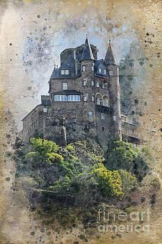 Katz Castle Germany by Barbara Dudzinska