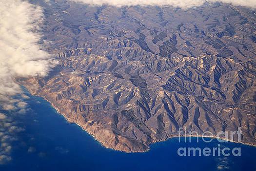Kauai Aerial View by Catherine Sherman