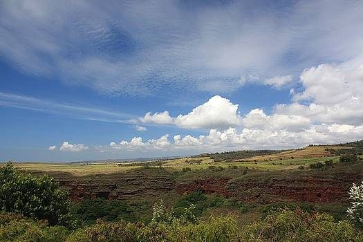 Kauai Clouds by Diane Merkle