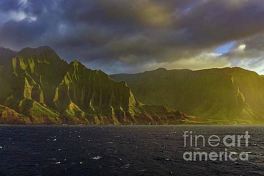 Kauai Golden Sunset by Dave Matchett