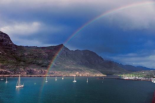 Kauai Rainbow by Rick Lawler