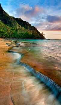 Kauai Shore by Monica and Michael Sweet