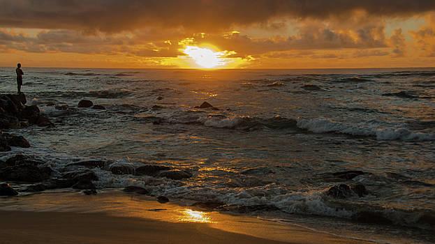 Kauai Sunrise Meditation by Joie Cameron-Brown