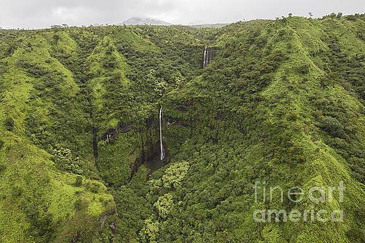 Kauai Waterfall by Shishir Sathe