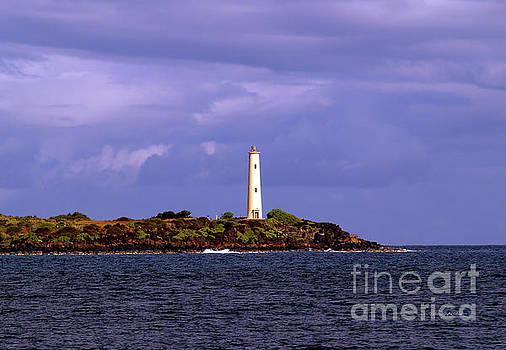 Kauhola Point Lighthouse by Patricia Griffin Brett