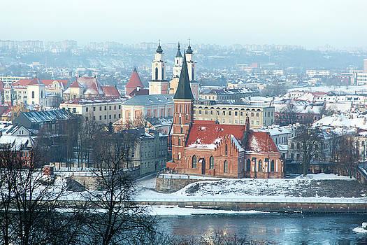 Ramunas Bruzas - Kaunas City In Winter