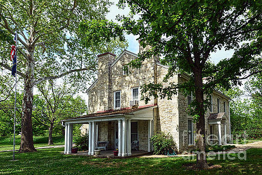 Kaw Mission, Council Grove, Kansas by Catherine Sherman