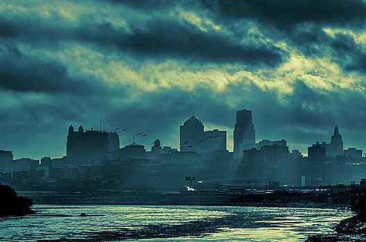 Jeff Phillippi - Kaw Point Kansas City Skyline