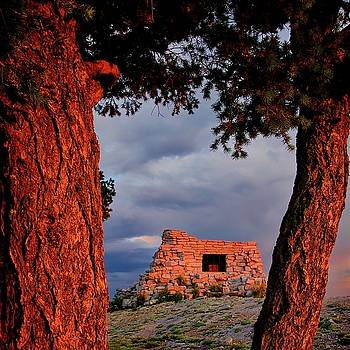Kawanis Cabin Sunset, Albuquerque, New Mexico by Flying Z Photography By Zayne Diamond