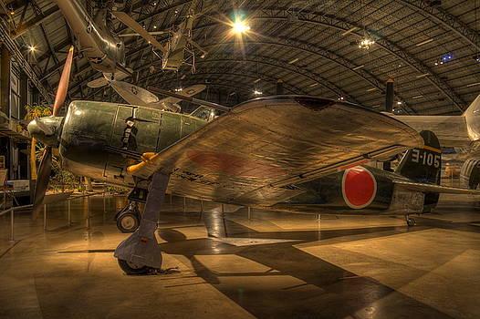 Kawanishi N1K2-JA by David Dufresne