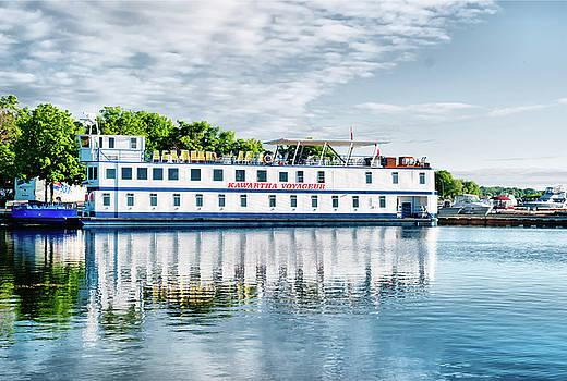 Kawartha Voyageur at Port of Orillia by JGracey Stinson