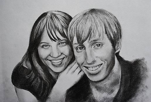 Kay and Michael by Emily Maynard