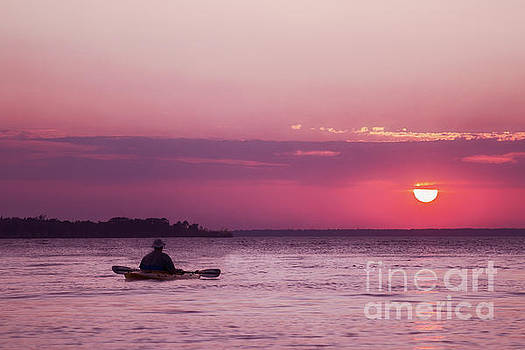 Kayak at Sunset by Margie Hurwich