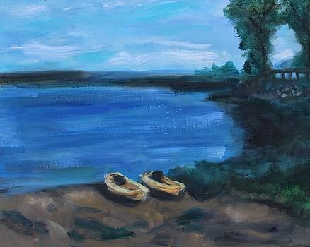 Kayak by Barbara Joyce