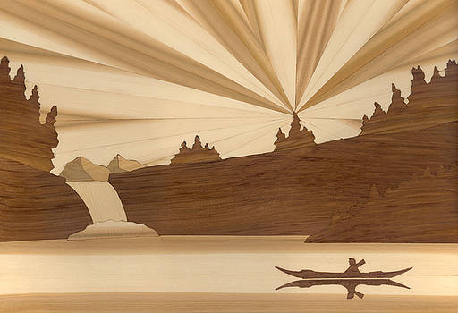 Kayak by Glen Stanley