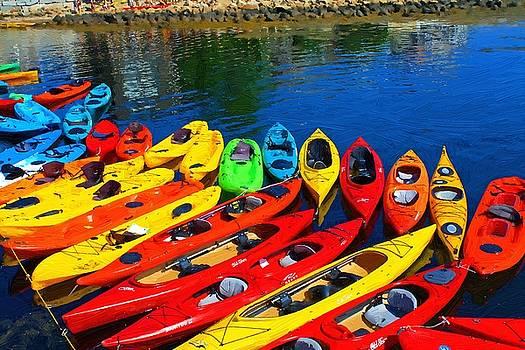 Kayak Heaven by John Ellis