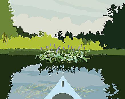 Kayak by Marian Federspiel