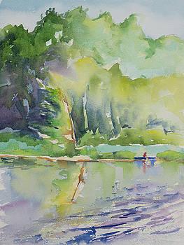 Kayak on Cedar Lake by Adam VanHouten