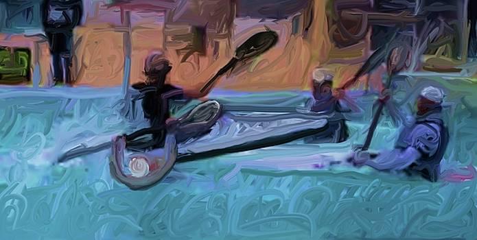 Kayak Polo by Harry Spitz