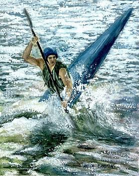 Kayaker by Anita Carden