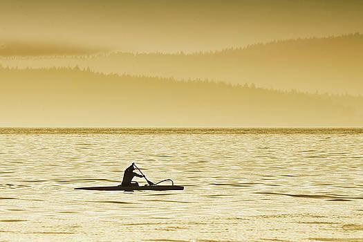 Kayaker  by Bob Stevens